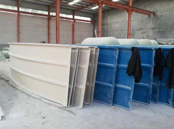 玻璃钢拱形盖板