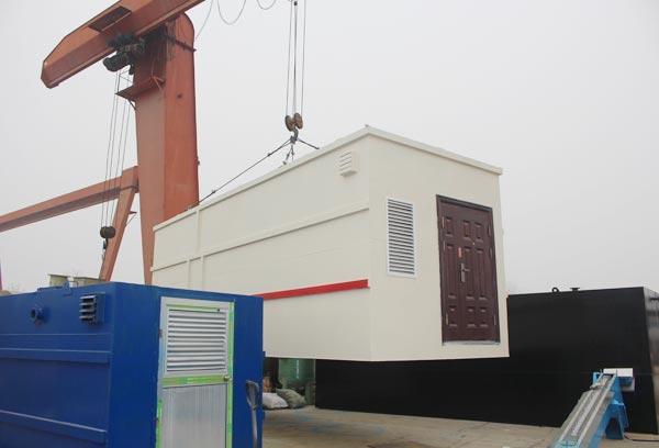 一体化污水处理设备免土建设施工