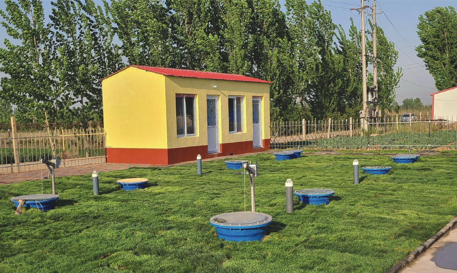 地理式污水一体化处理设备
