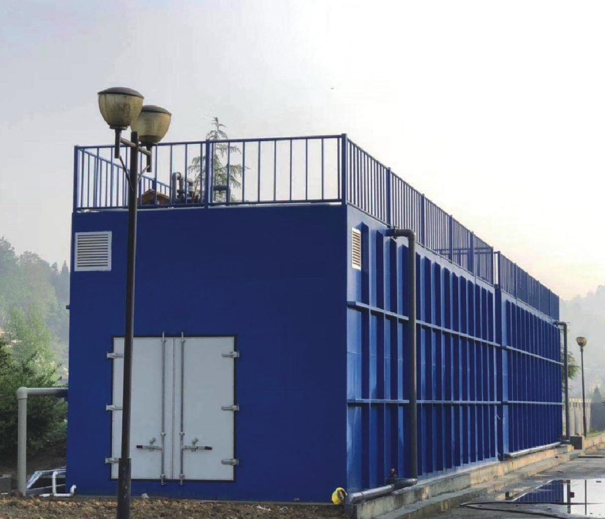 MBR膜污水一体化处理设备